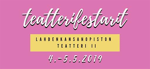 Teatterifestarit 2019