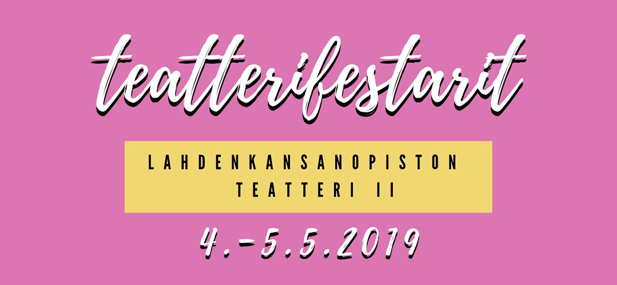 Teatterifestarit 2019 -teatteriesityksen promokuva