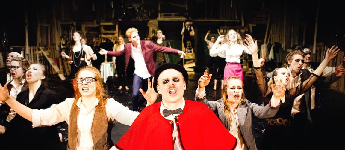 Intohimoisin ja rohkein Lahden kaupungin teatteri esitti komedian Reviisori